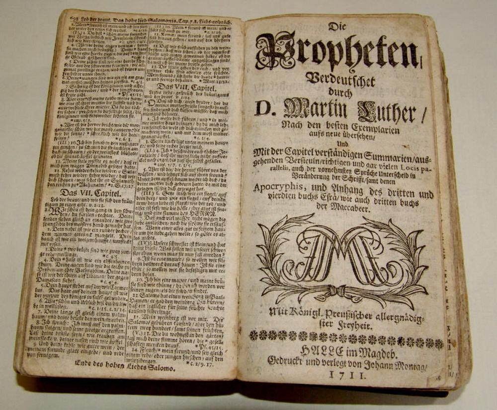 Bibelübersetzung Martin Luther
