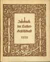 Luther Jahrbuch 1929; M�nchen: Chr. Kaiser Verlag