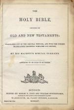 bibel auf englisch