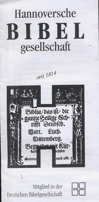 Hannoversche Bibelgesellschaft